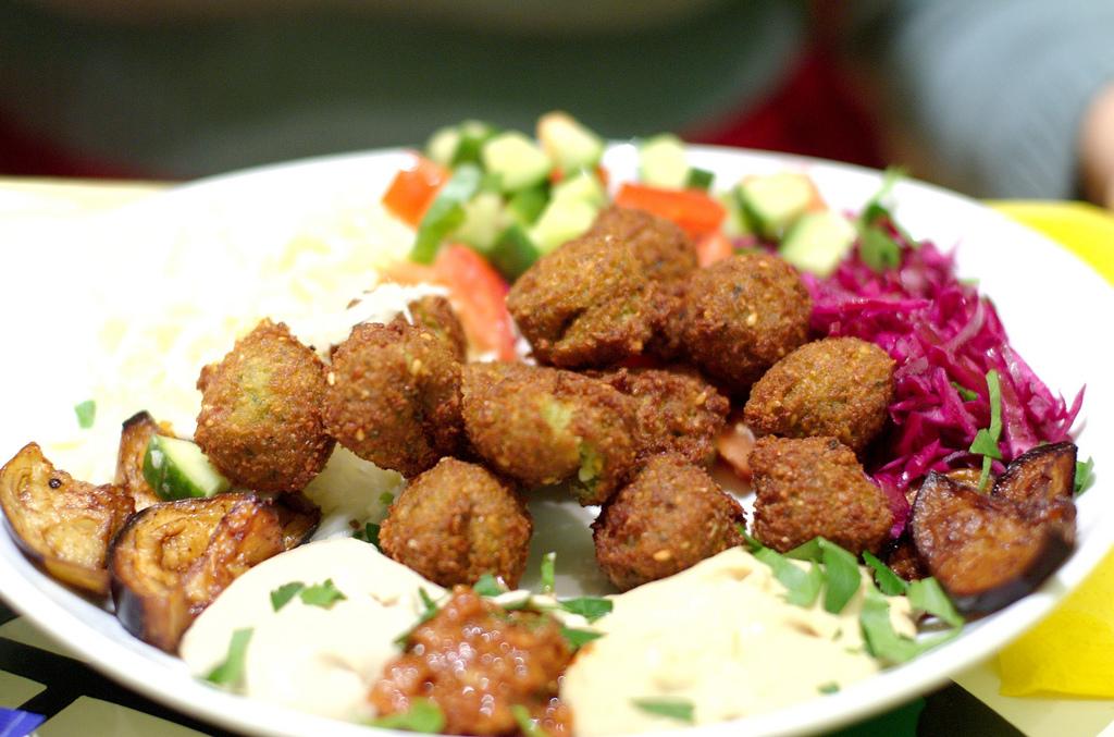 Saudi Food - Falafel