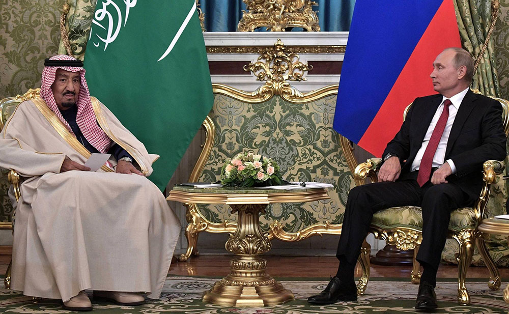 Deal with Russia for Vision 2030