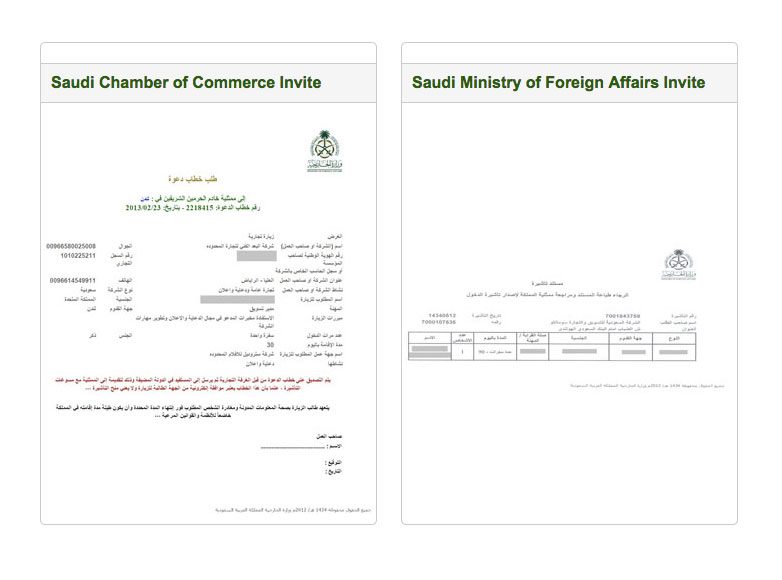 please click here to see an example of the documentation pdf saudi visa